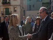 Recepció de les autoritats a Tarragona
