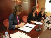 Signatura conveni AJG 2008