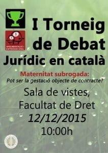 I torneig de debat en català