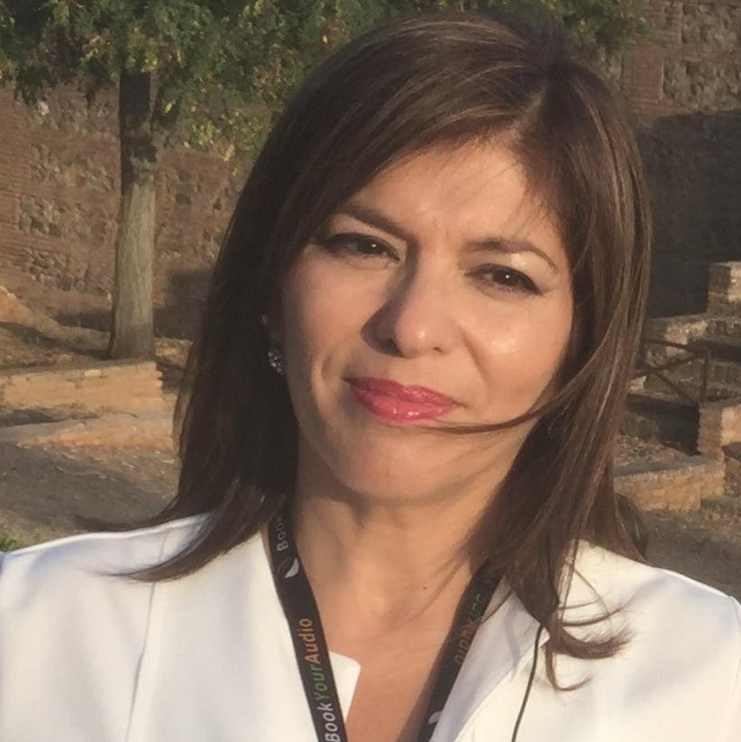 Sra. Anna Velasco, del Col·legi de Terrassa